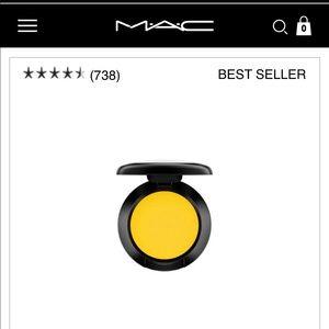 MAC eyeshadow Chrome Yellow matte new best seller